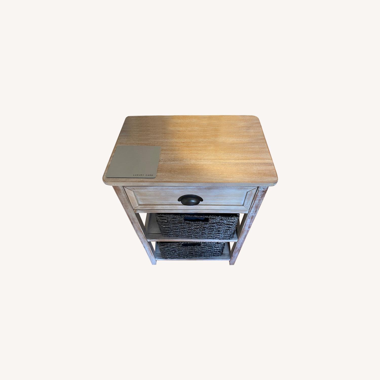Wooden Nightstand - image-0