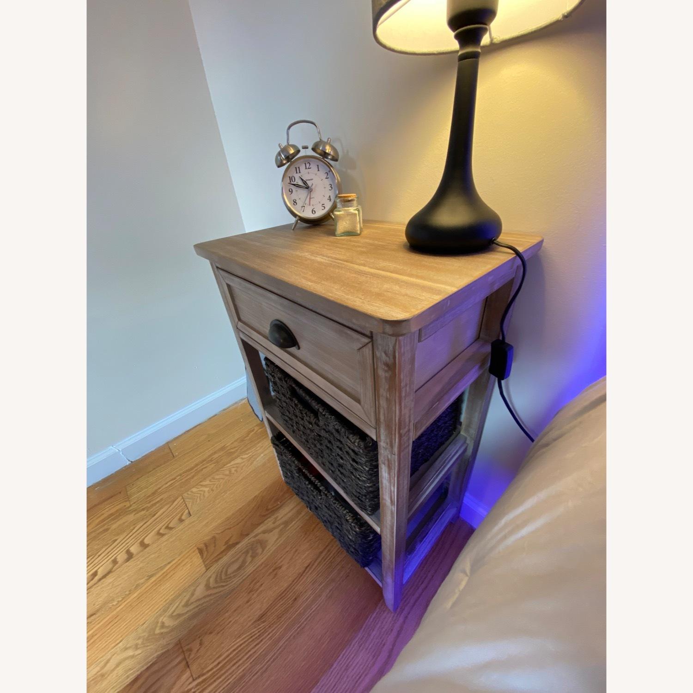 Wooden Nightstand - image-2
