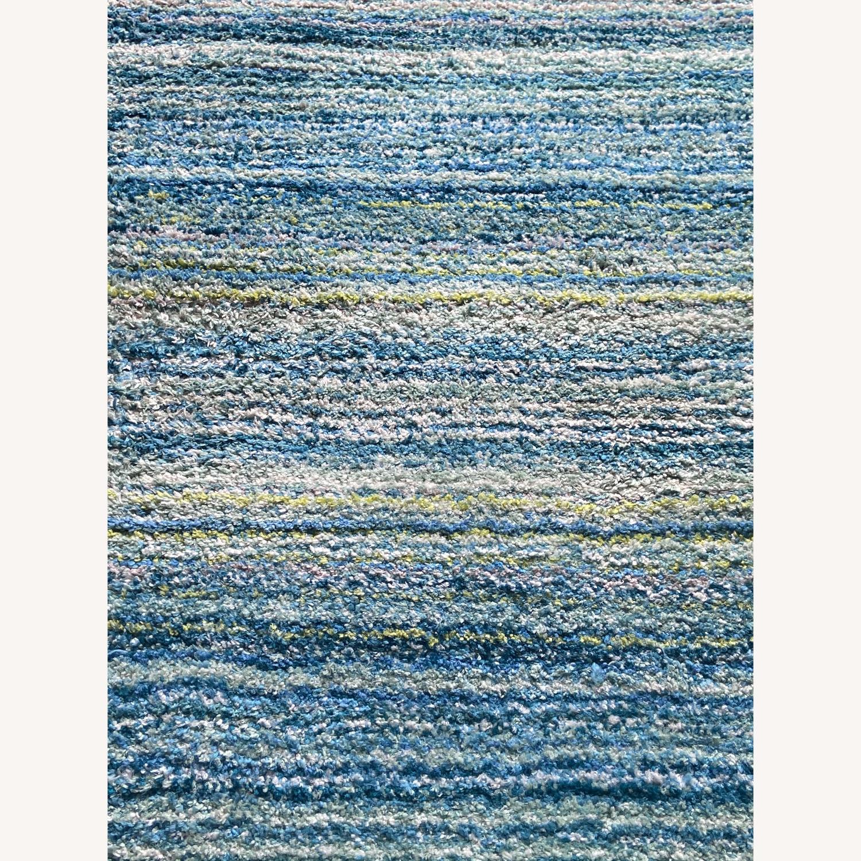 Wayfair Blue Handmade Area Rug - image-3