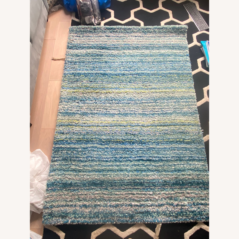 Wayfair Blue Handmade Area Rug - image-1