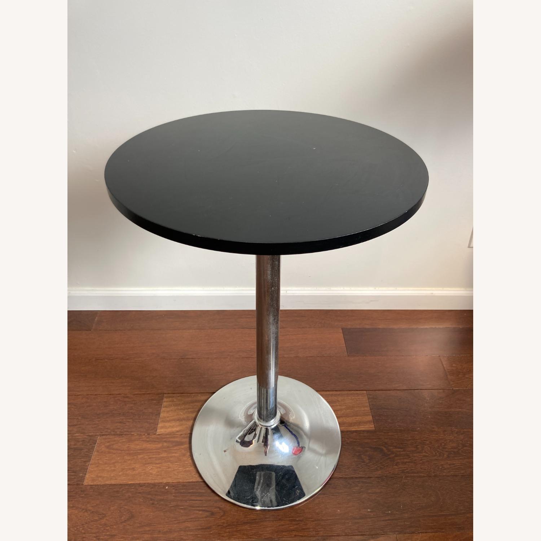 Black Bistro Table - image-1