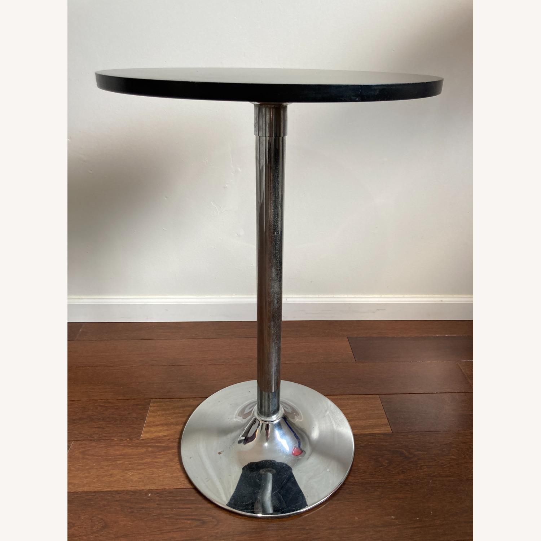 Black Bistro Table - image-2