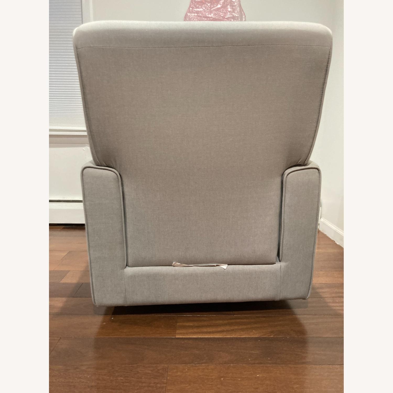 Glider Swivel Rocker Chair, Heather Grey - image-5