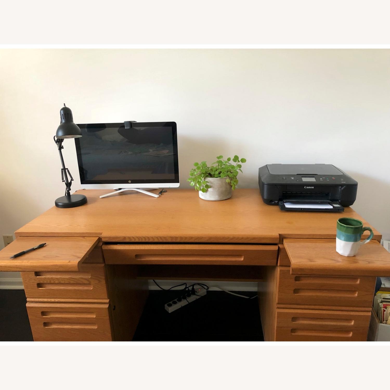 Palliser DeFehr Custom Double Pedestal Desk - image-2