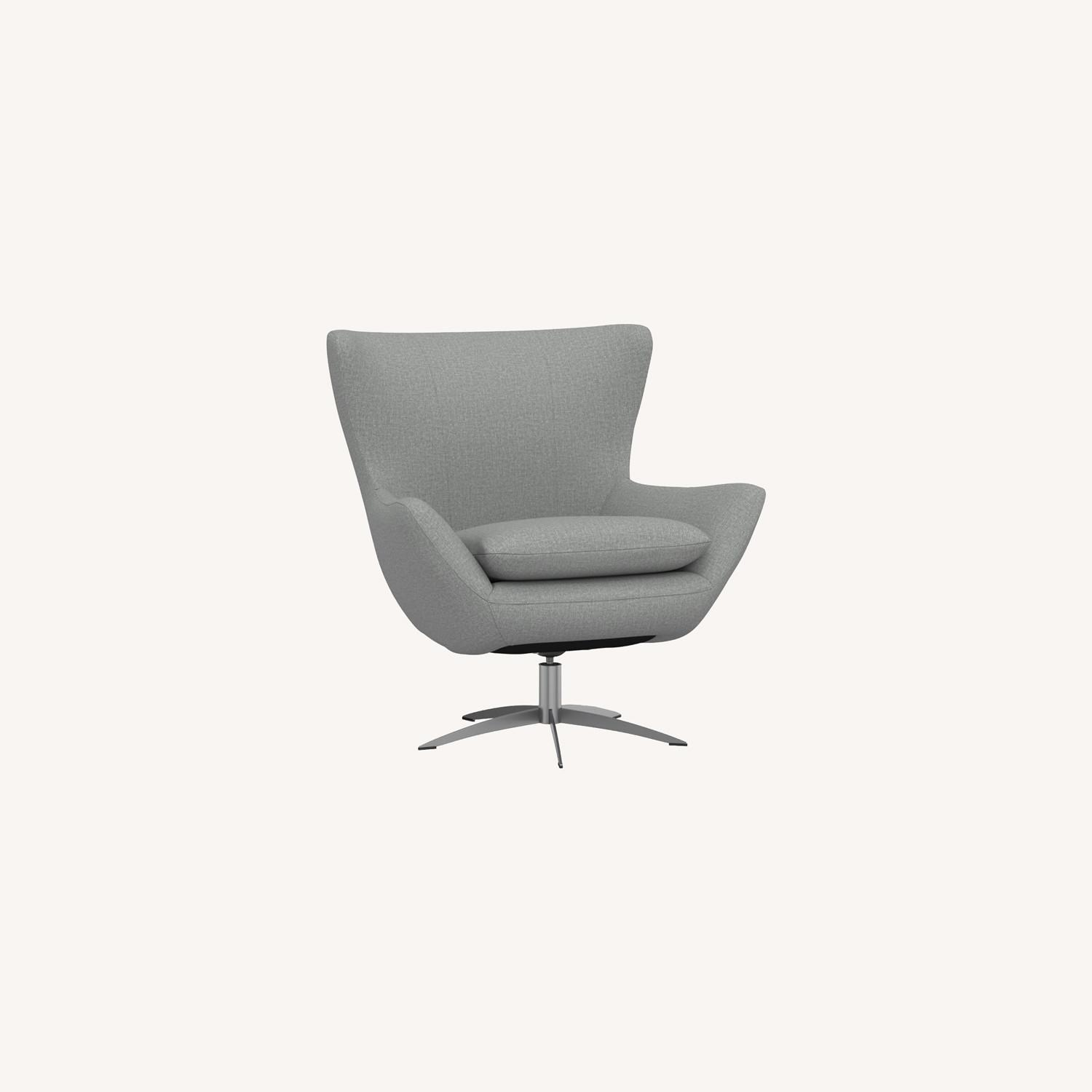Pottery Barn Wells Tight Back Petite Armchair - image-0