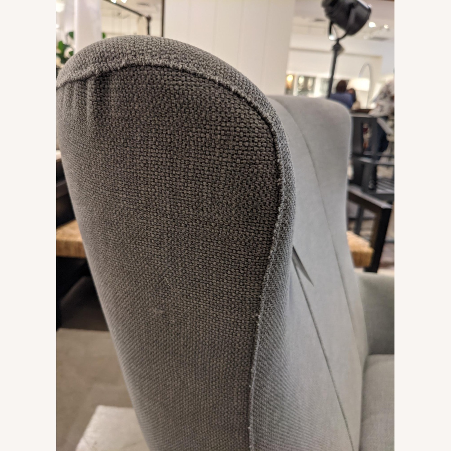Pottery Barn Wells Tight Back Petite Armchair - image-5
