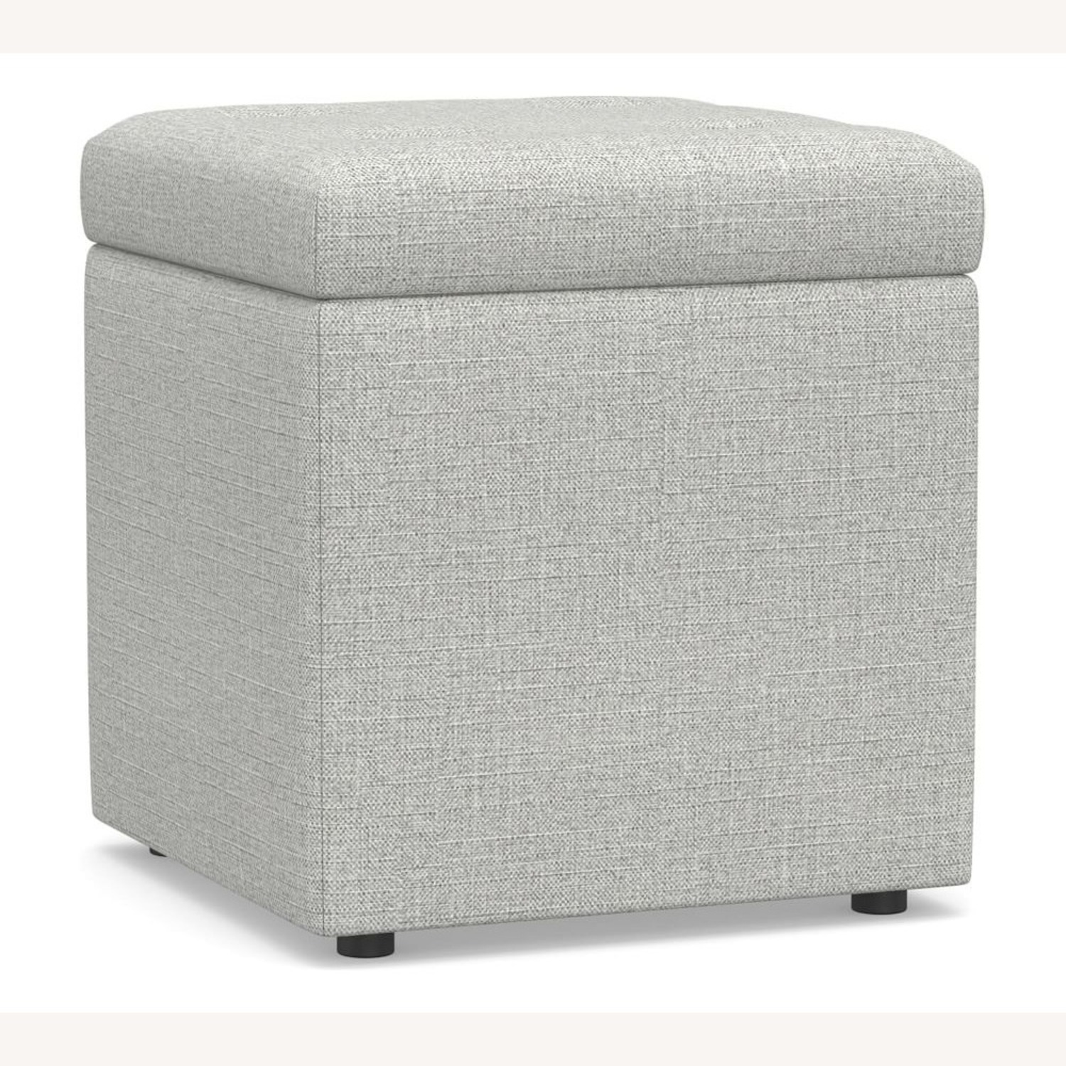 Pottery Barn Marlow Upholstered Storage Cube - image-3