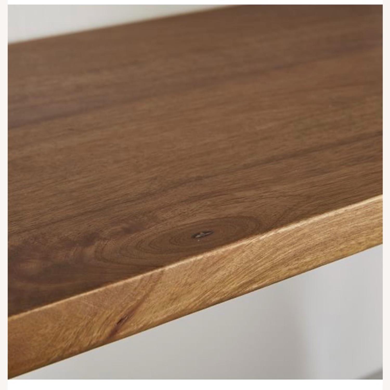 West Elm 3-Tiered Wood & Metal Wall Shelf - image-3