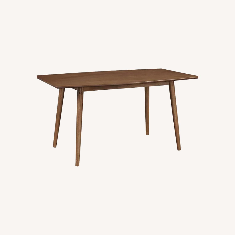 Target Mid Century Walnut Dining Table - image-0
