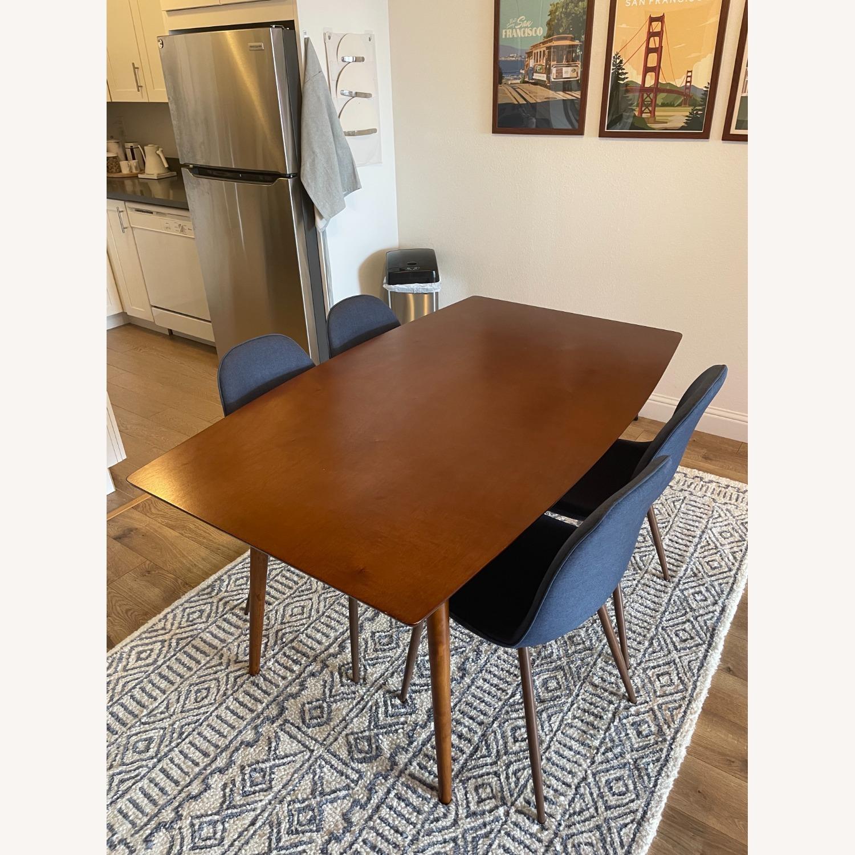 Target Mid Century Walnut Dining Table - image-1