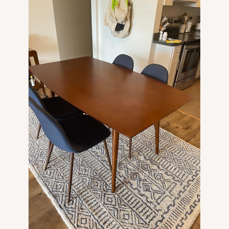 Target Mid Century Walnut Dining Table - image-2