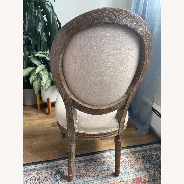 World Market Linen Side Chair - image-5