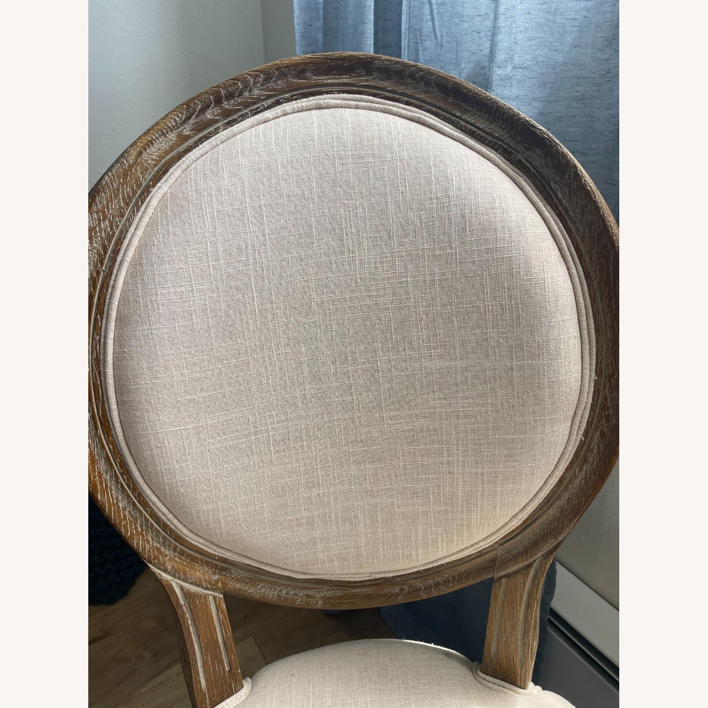 World Market Linen Side Chair - image-3