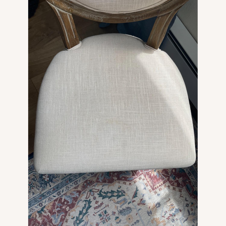 World Market Linen Side Chair - image-4