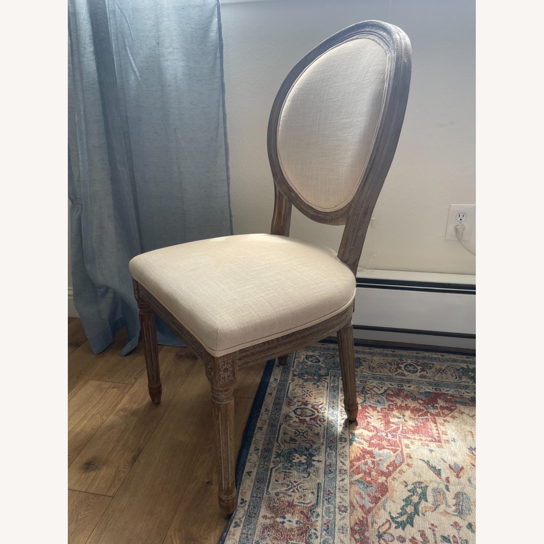 World Market Linen Side Chair - image-2