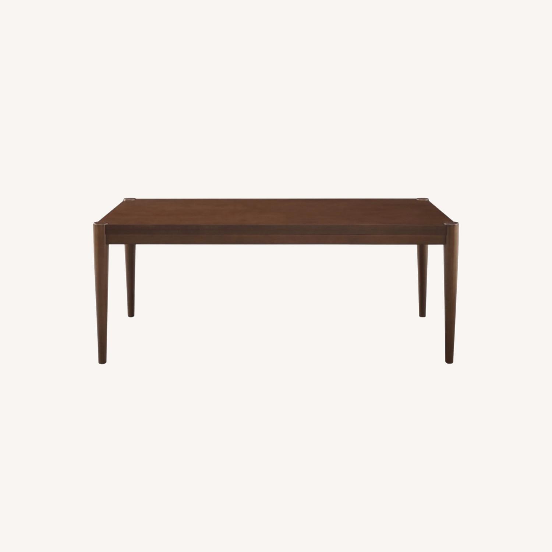 Walker Edison Walnut Coffee Table - image-0