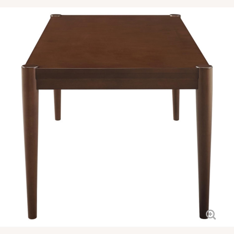 Walker Edison Walnut Coffee Table - image-4