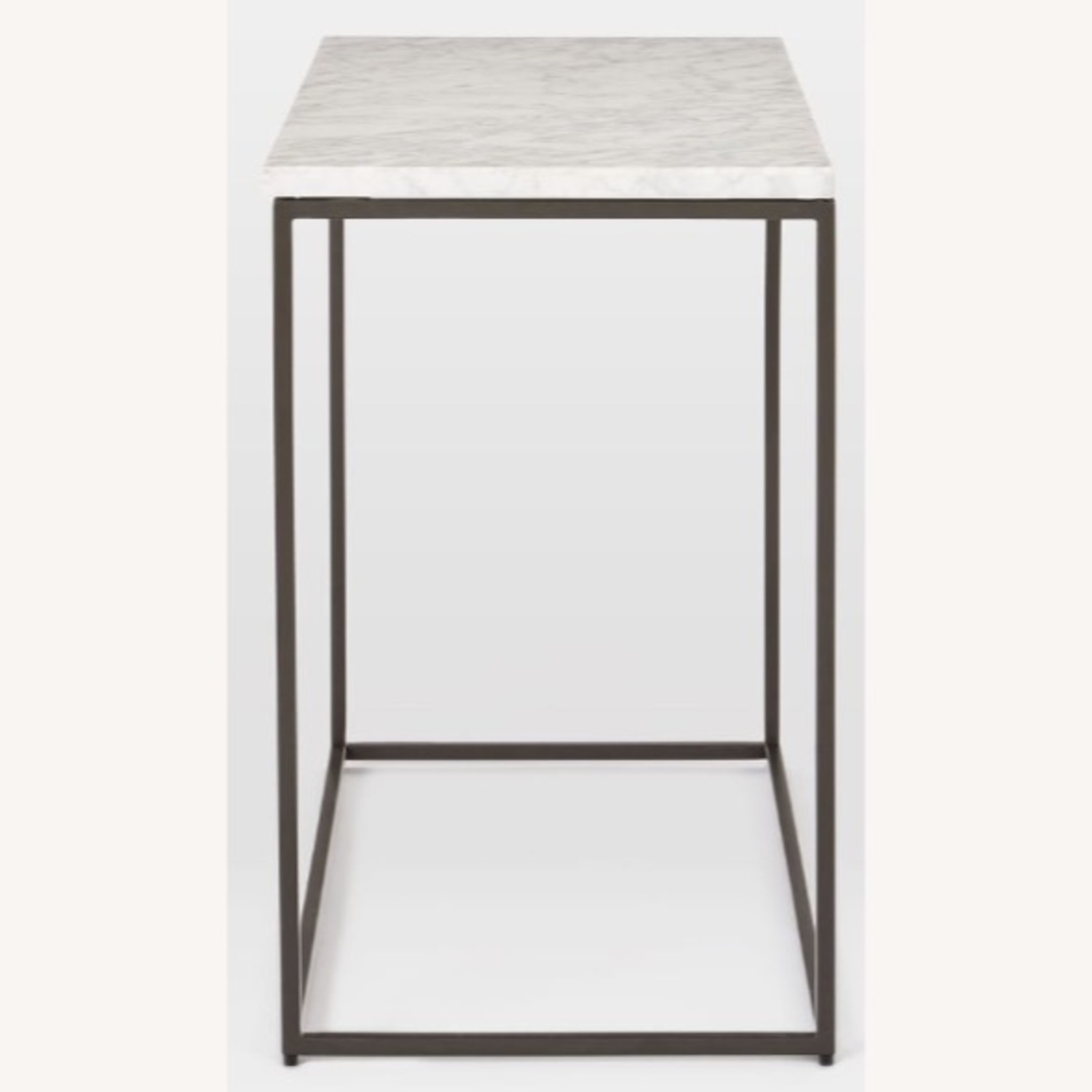 West Elm Marble End Table - image-3