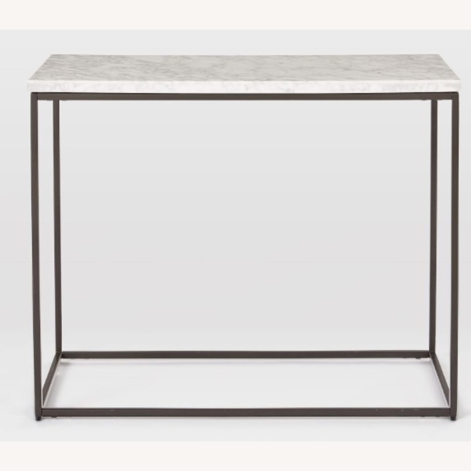 West Elm Marble End Table - image-2