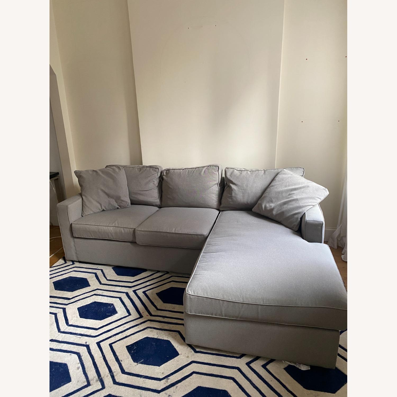 Room & Board - York Sofa w/ Chaise - image-1