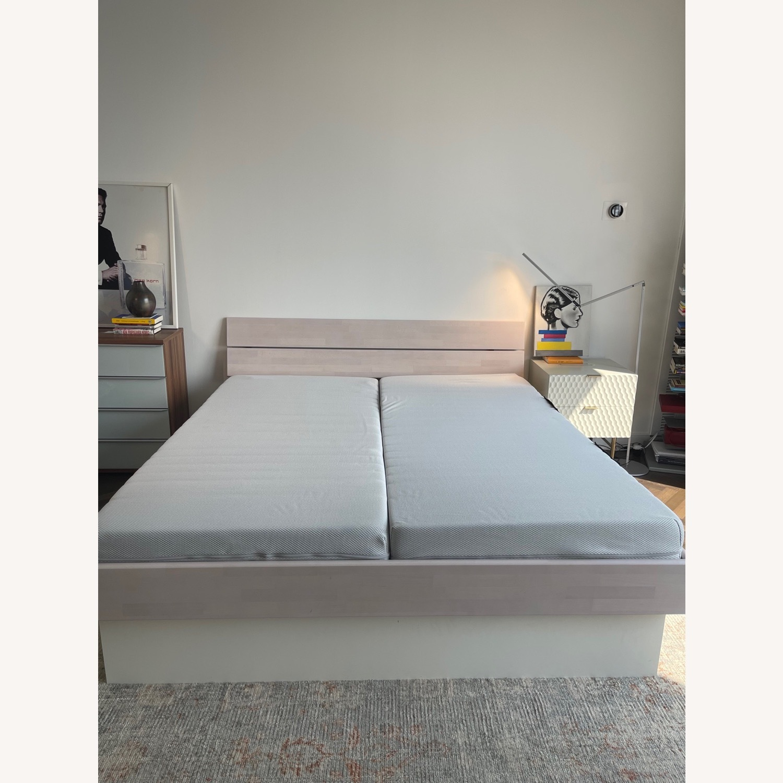 Hasena Wooden Storage Bed - image-1