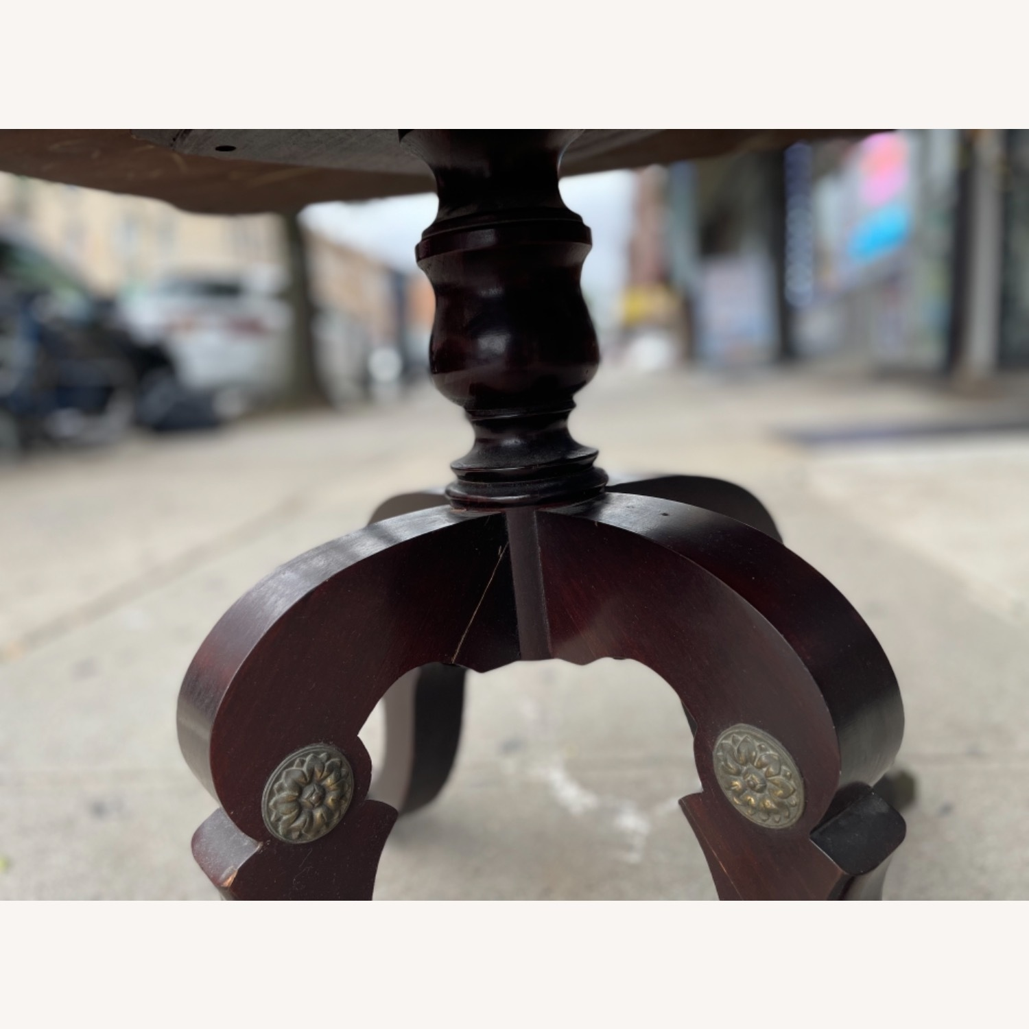 Adams Always 1930s Decorative Leather Top Table - image-29