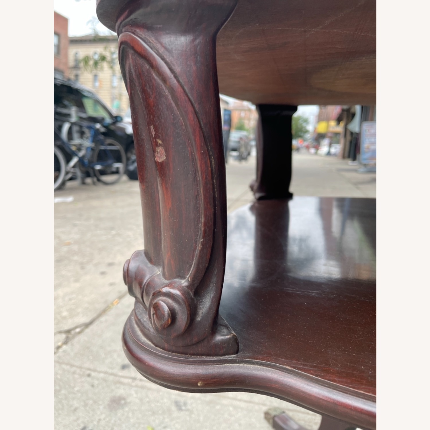 Adams Always 1930s Decorative Leather Top Table - image-28