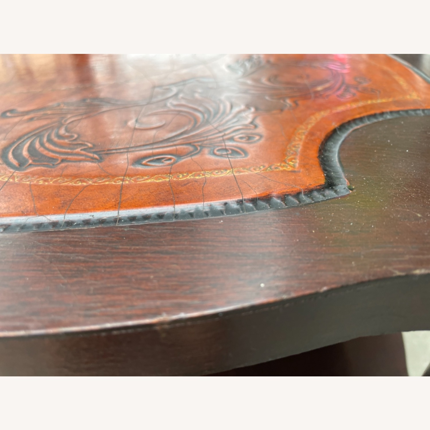 Adams Always 1930s Decorative Leather Top Table - image-20