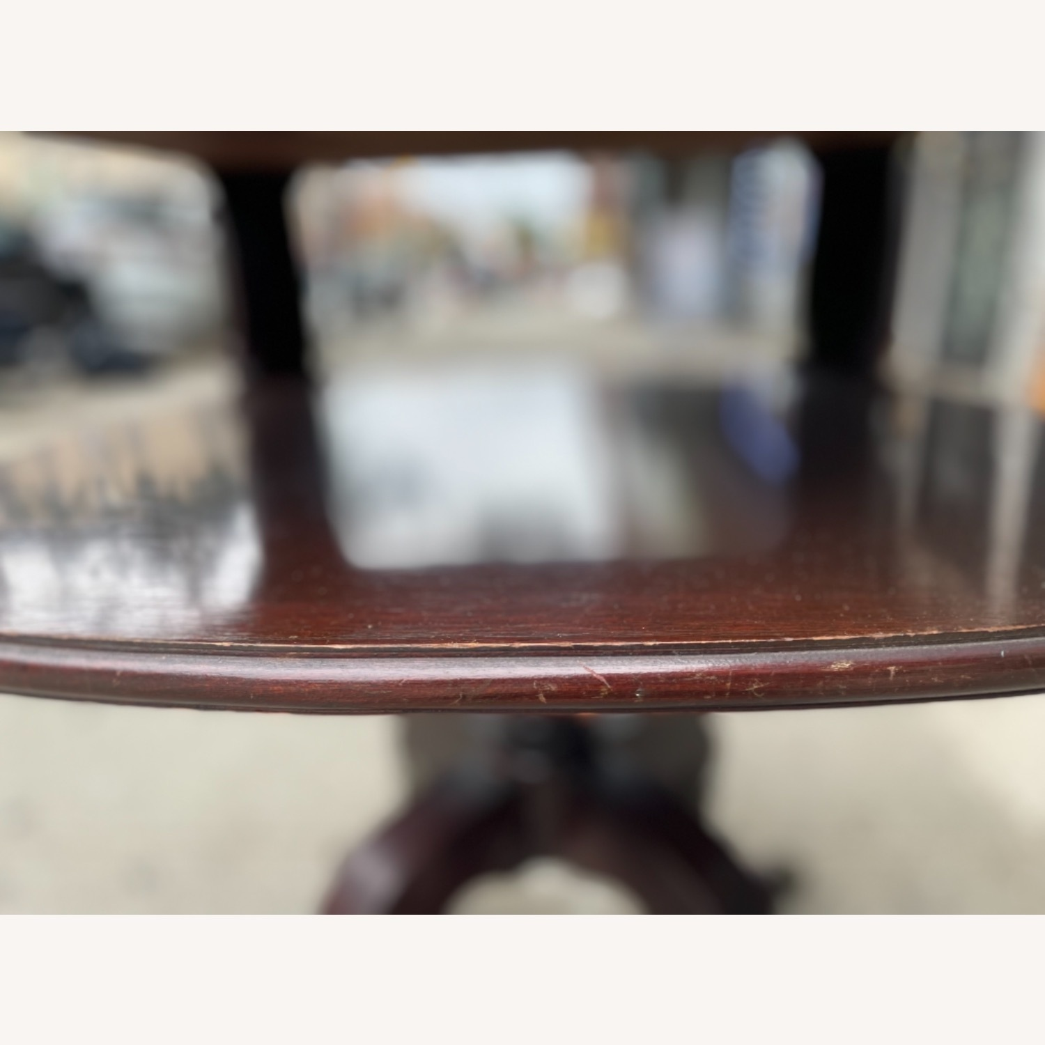 Adams Always 1930s Decorative Leather Top Table - image-27
