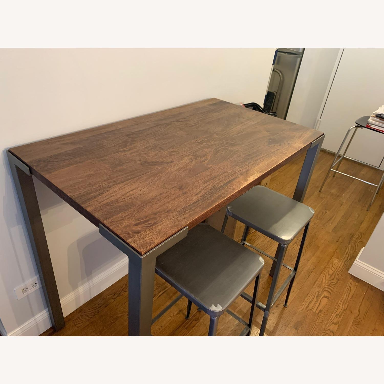 "CB2 Stilt 42"" High Dining Table - image-2"