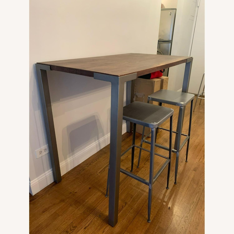 "CB2 Stilt 42"" High Dining Table - image-1"