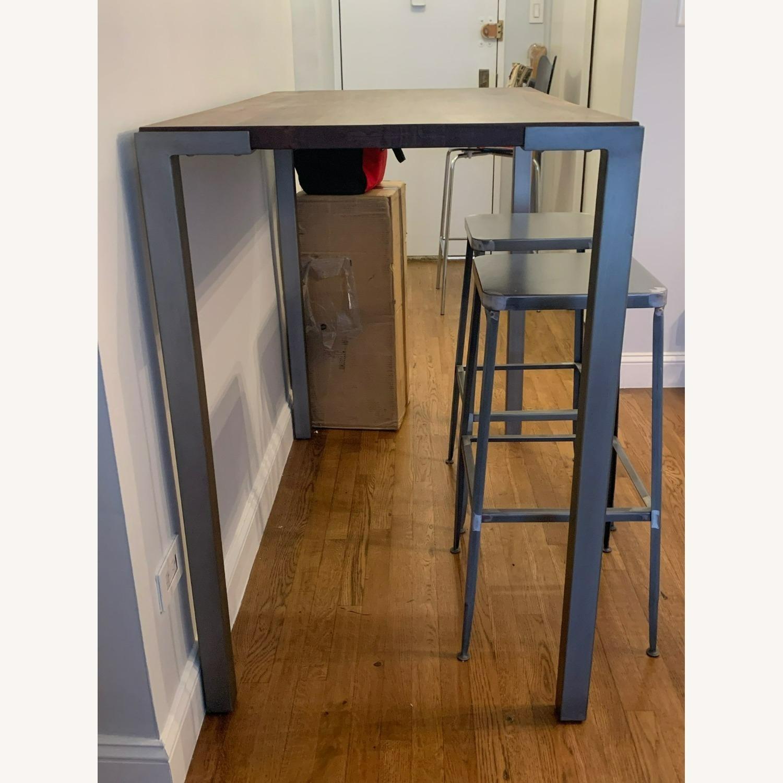 "CB2 Stilt 42"" High Dining Table - image-3"