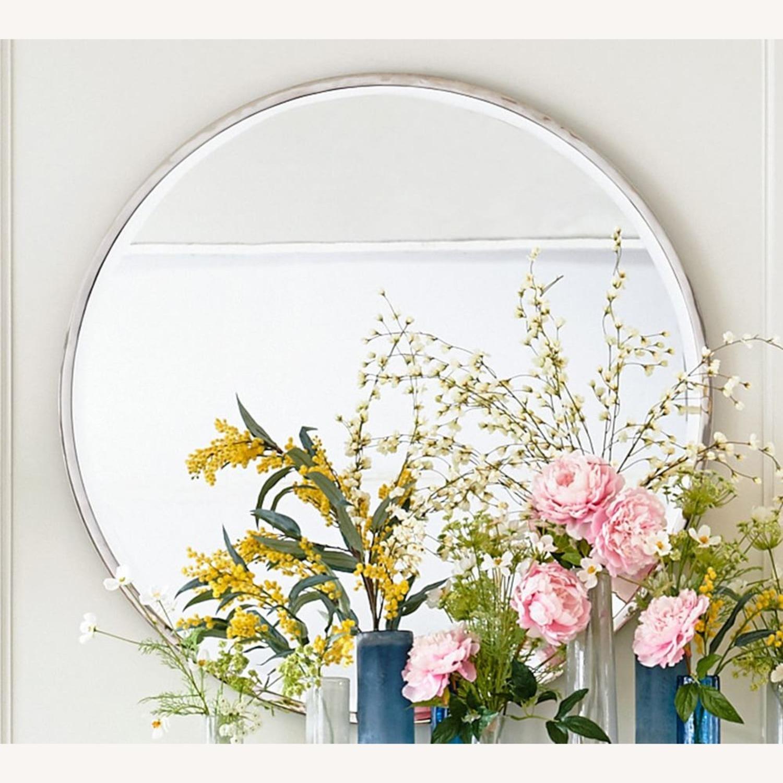 Pottery Barn Layne Oversized Round Wall Mirror - image-3