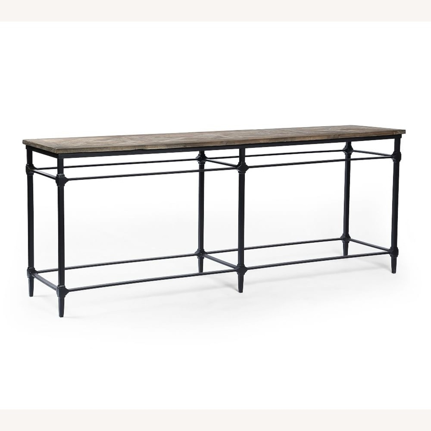 """Pottery Barn Parquet 84"""" Grand Console Table - image-1"""