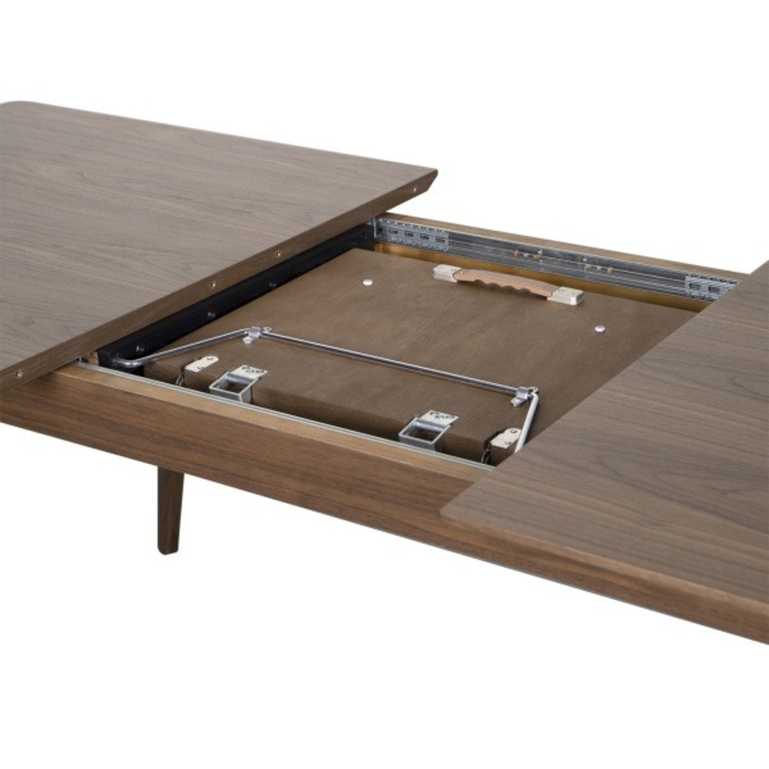Samuel Lawrence Walnut Dining Table with Removable Leaf - image-2