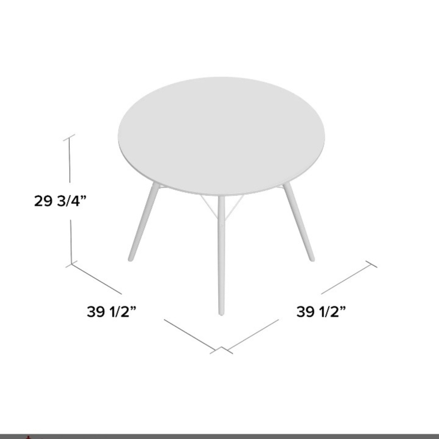 Wayfair Boardway Round Dining Room Table - image-4