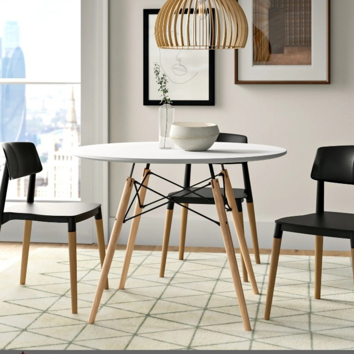 Wayfair Boardway Round Dining Room Table - image-1