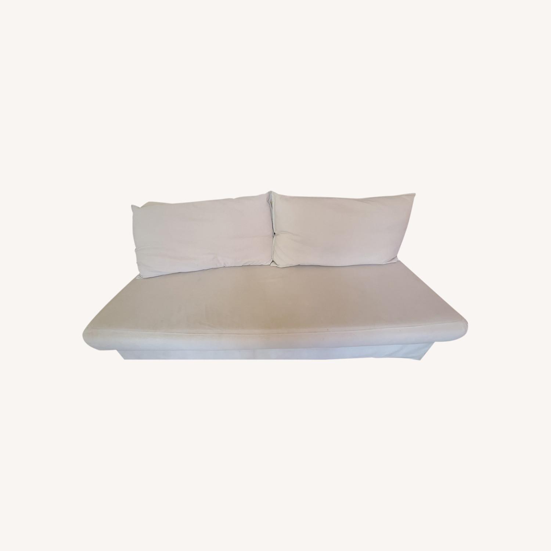 Cream Sofa Bed - image-0