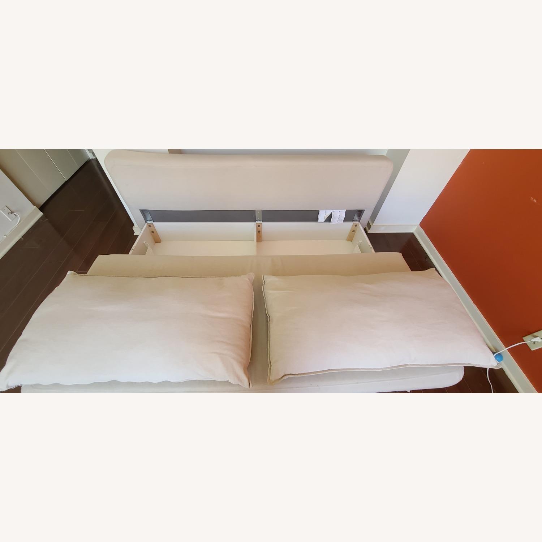 Cream Sofa Bed - image-3
