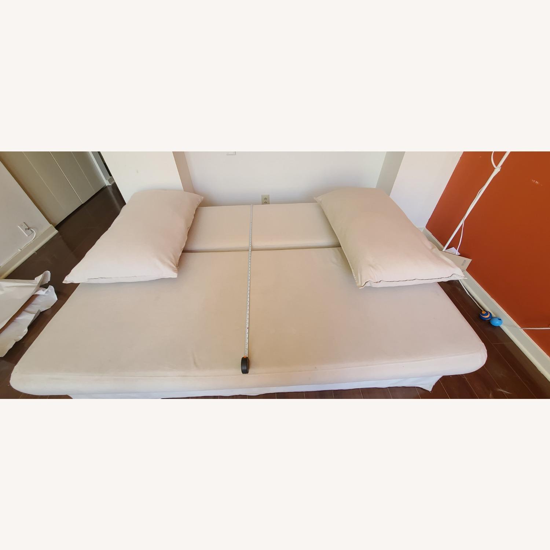 Cream Sofa Bed - image-2