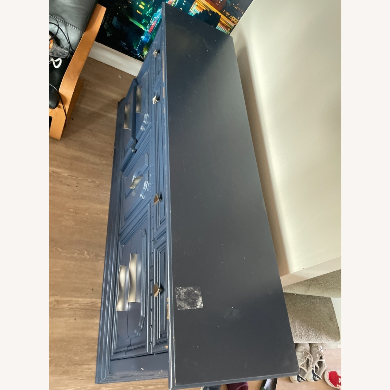Restoration Hardware Blue Dresser - image-5