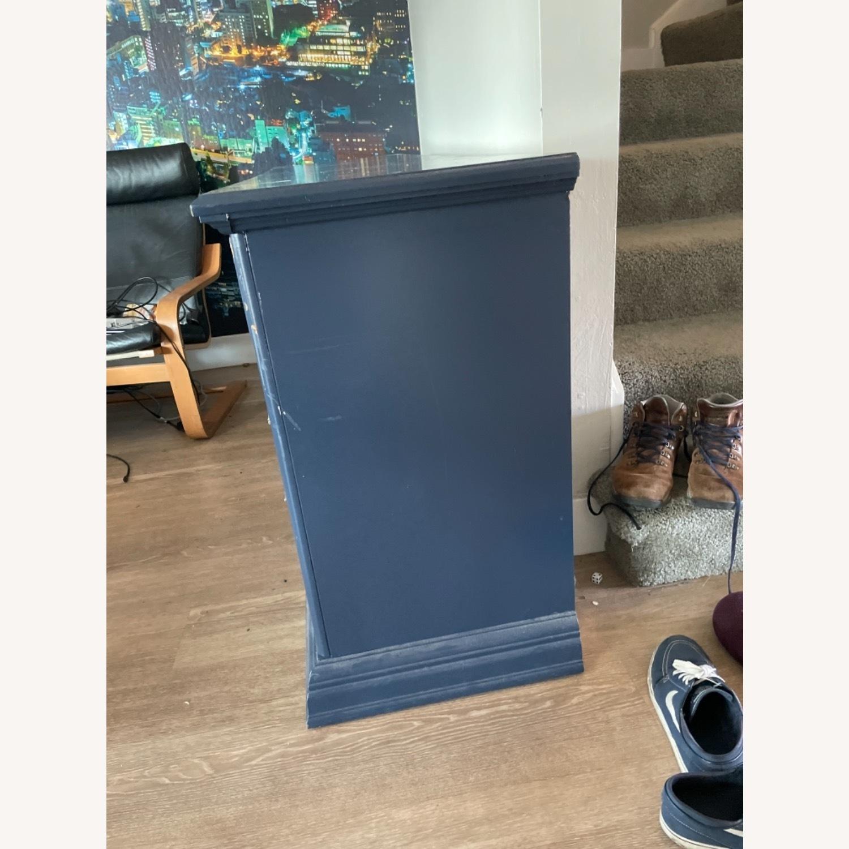 Restoration Hardware Blue Dresser - image-3