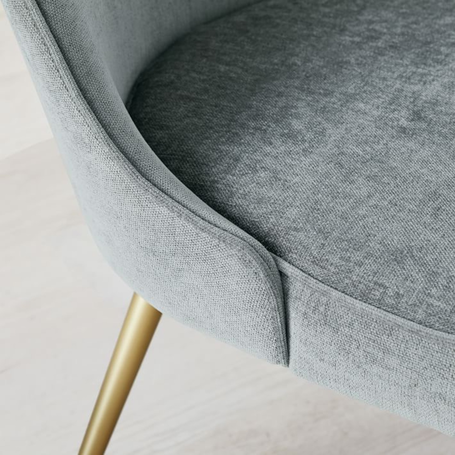 West Elm Mid Century Upholstered Dining Chair Set - image-3