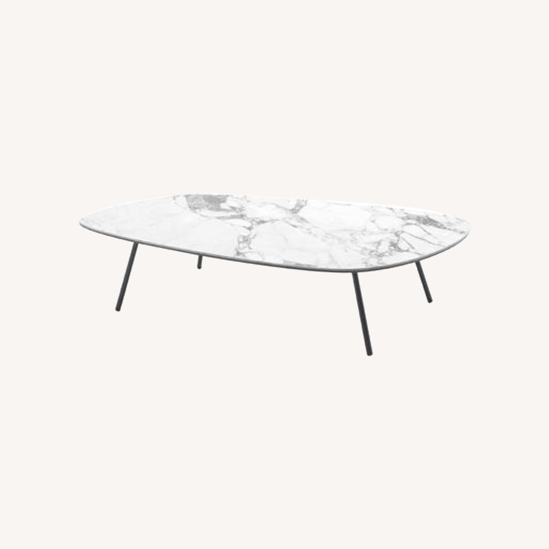 Calligaris Tweet Marble Coffee Table - image-0