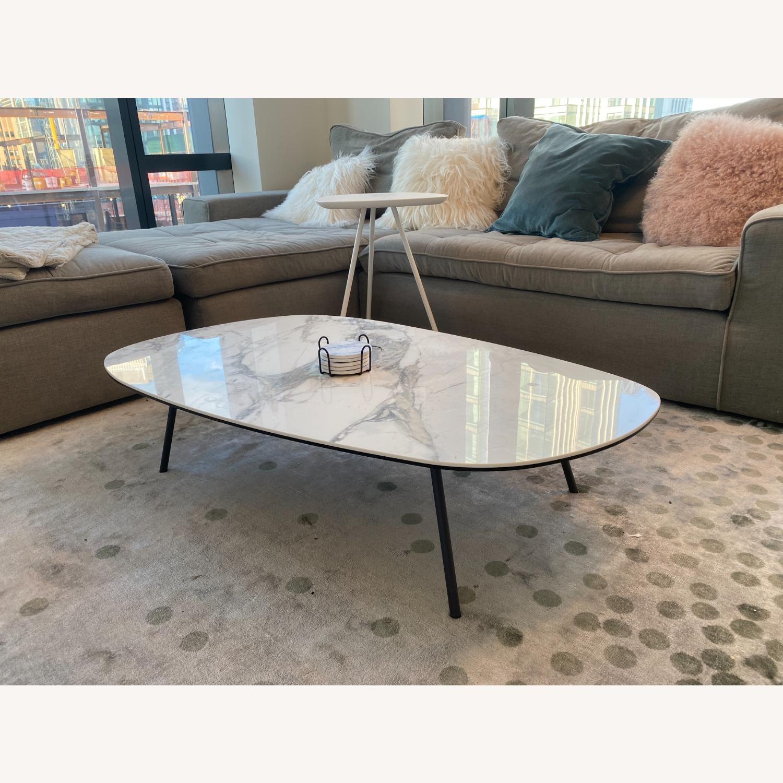 Calligaris Tweet Marble Coffee Table - image-2