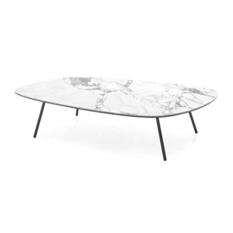 Calligaris Tweet Marble Coffee Table - image-1