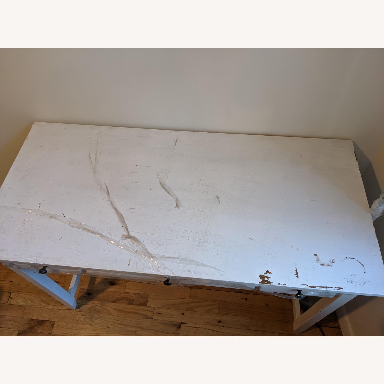 Vintage Desk with Drawers - image-4