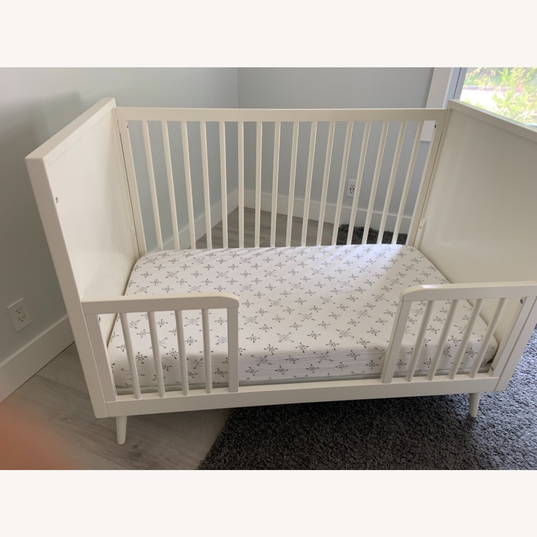 West Elm Mid Century Crib - image-1