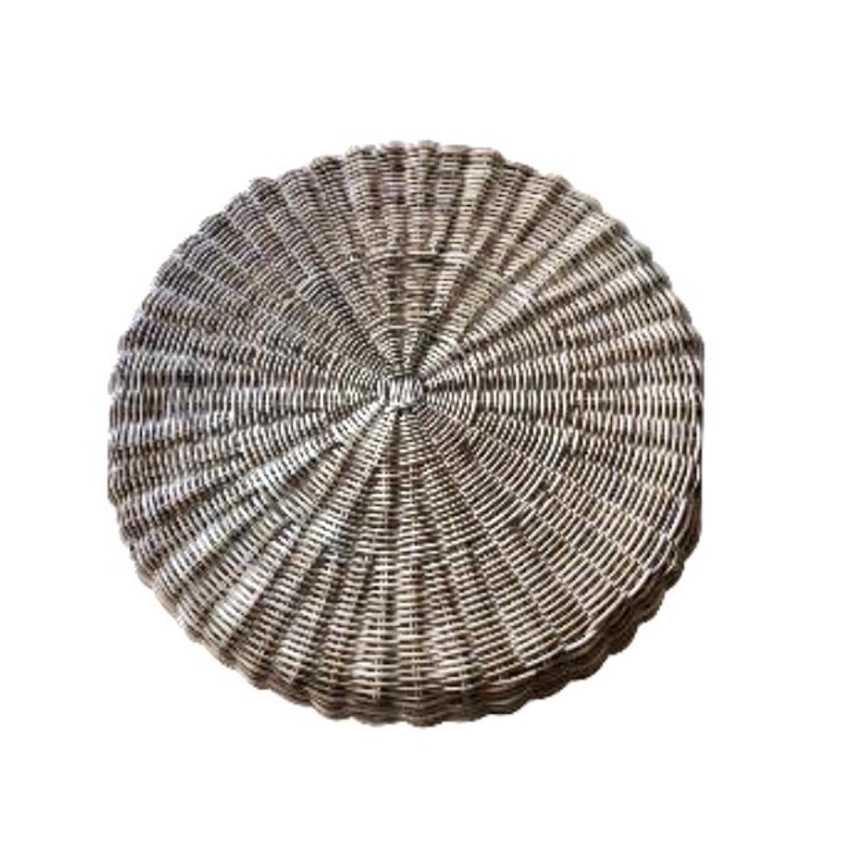 Ligne Roset Sempre Round Ottoman with Cushion - image-2