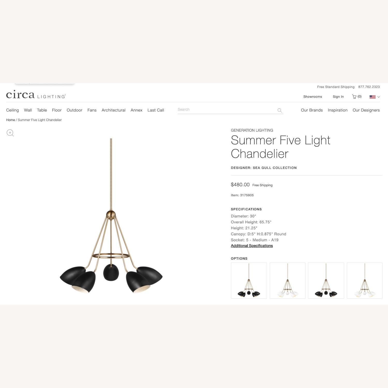 Circa Lighting Summer Five Chandelier - image-1